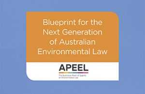 APEEL releases 'The Future of Australian Environmental Laws'