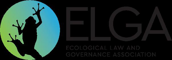 Ecological Law and Governace Association logo